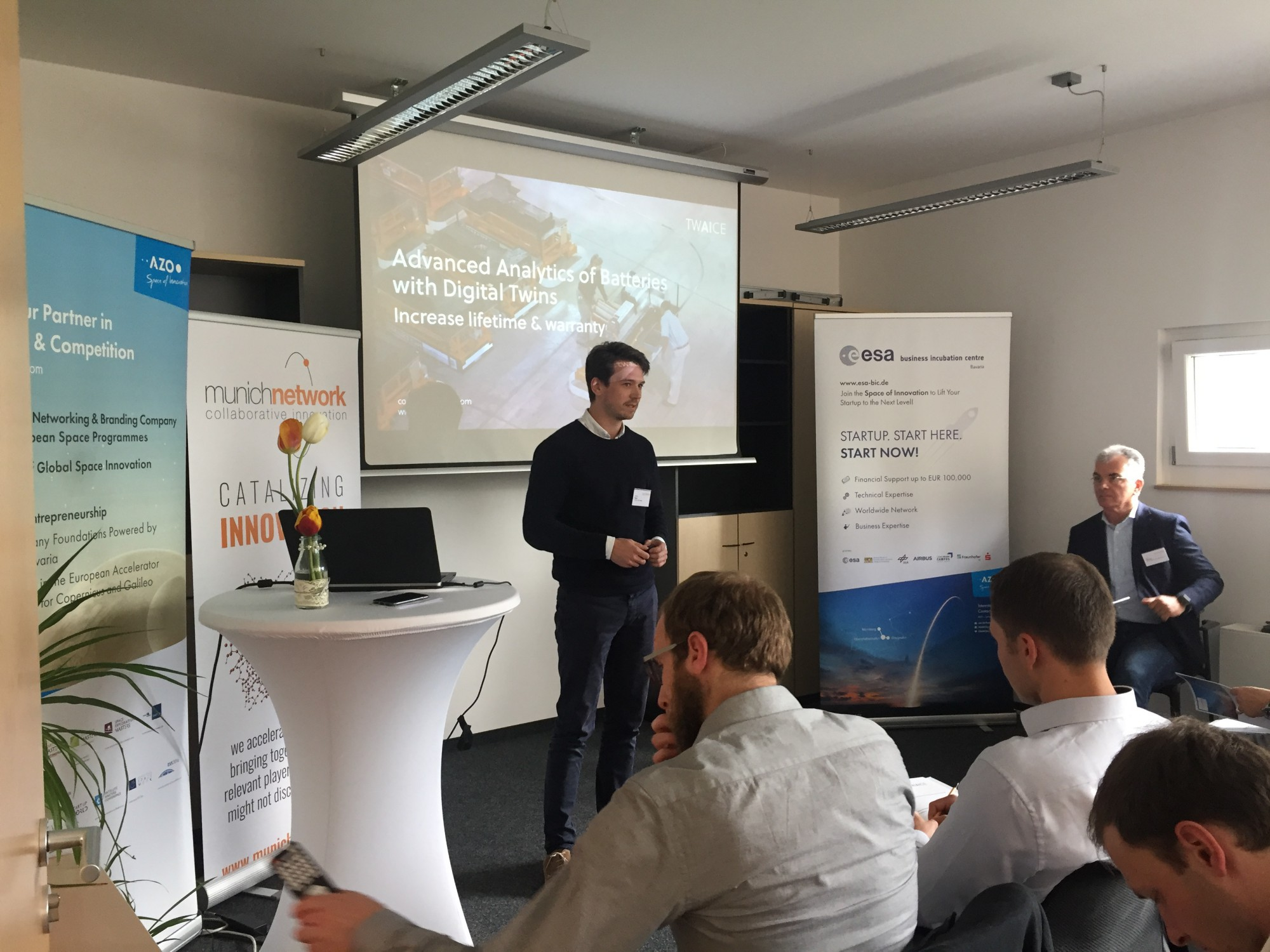 ESA BIC Bavaria's AZO Startup2Industry Event – Where