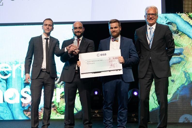 Winners Copernicus Masters ESA EO Future Challenge 2018