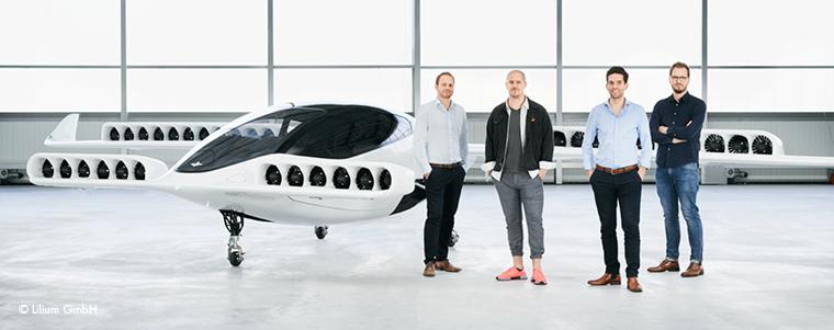 ESA BIC alumni Lilium founders present new jet