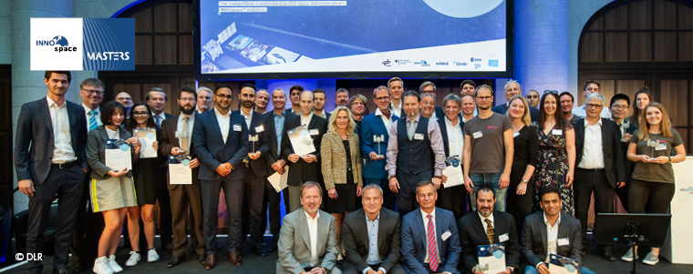 INNOspace Masters Competition awards prizes to innovative ideas for