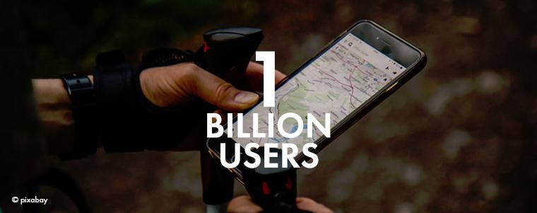 1 Billion Galileo Users