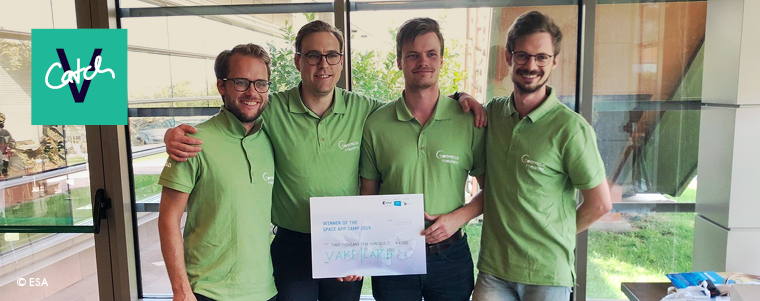 ESA Space App Camp Winners 2019