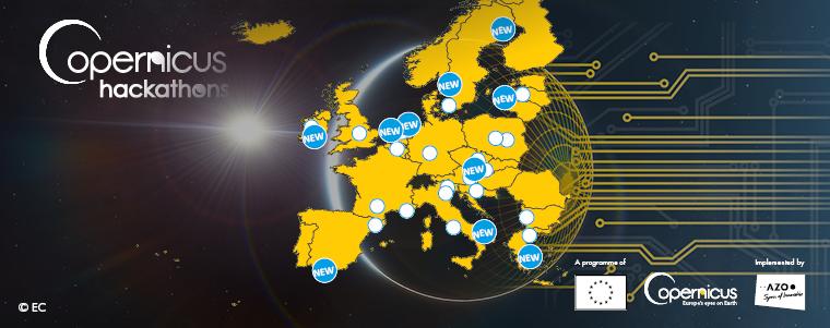Copernicus Hackathons organisers 4th round