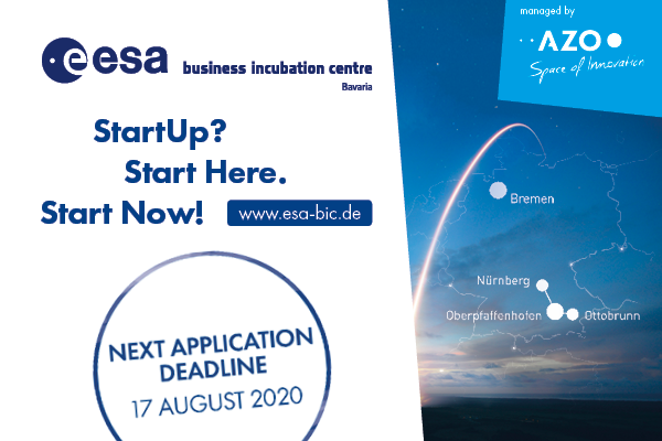 ESA BIC Bavaria next Deadline
