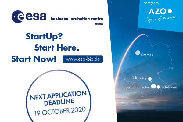 ESA BIC Bavaria next Deadline